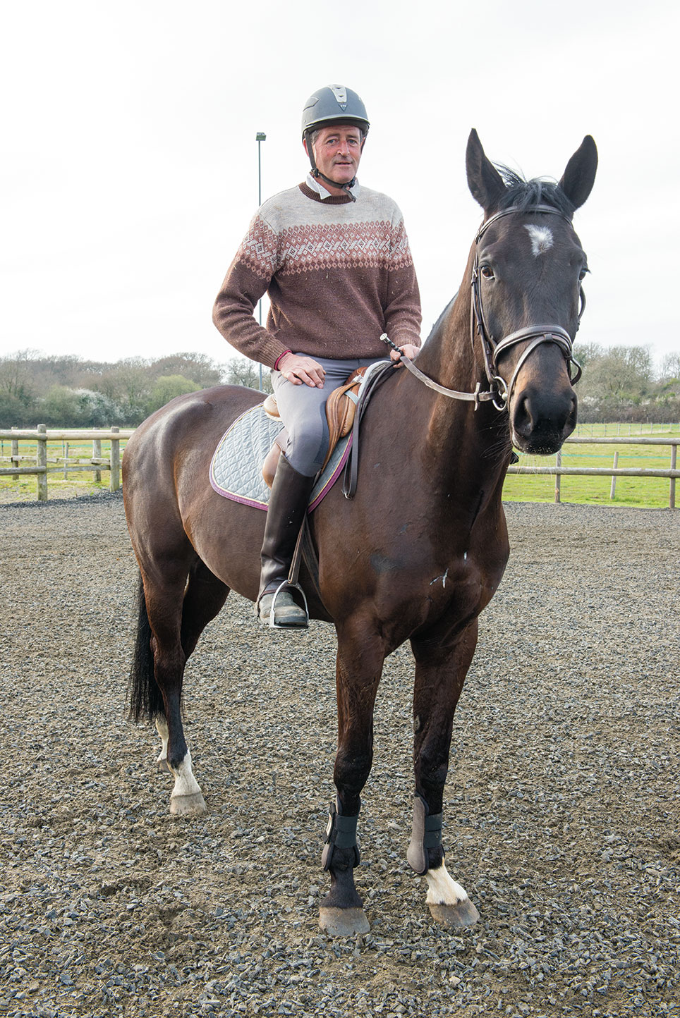 Robert Booth A Wealth Of Experience With Horses Island Life Magazine