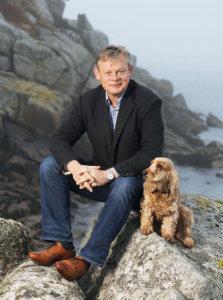 MartinClunes-with-Dog